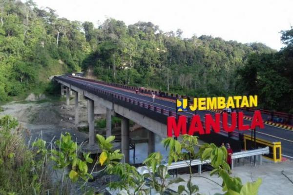 Pemerintah Rampungkan Jembatan Manula yang Hubungkan Lampung-Bengkulu