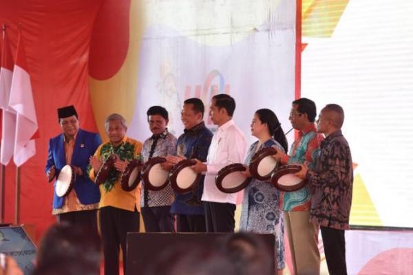 Sukses Gelar HPN 2020, PWI Jadikan Gubernur Sahbirin Noor Anggota Kehormatan