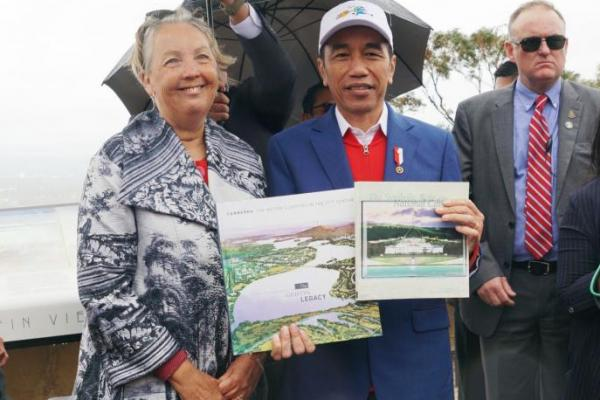 Kunjungi Mount Ainslie Canberra, Jokowi Ingin Pelajari Pengelolaan Ibu Kota Australia