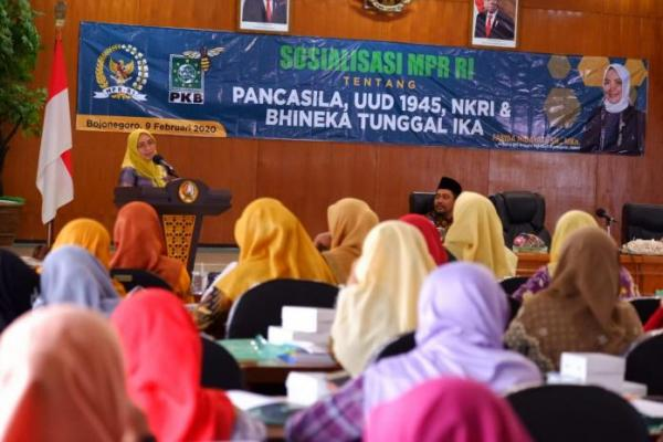 Farida Hidayati: Kedaulatan Indonesia Tetap Terjaga Karena Pancasila