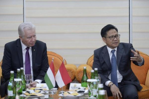 Terima Delegasi Hungaria, Gus Muhaimin Dorong Diplomasi Sawit ke Uni Eropa