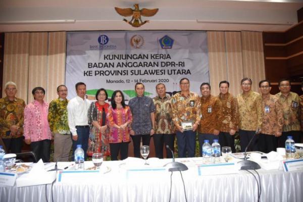 Banggar DPR Apresiasi Pembangunan Sulut Berkembang Cepat