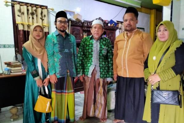 Digadang-gadang Nyabup, Ning Alif Sambangi Tokoh Lampung Selatan