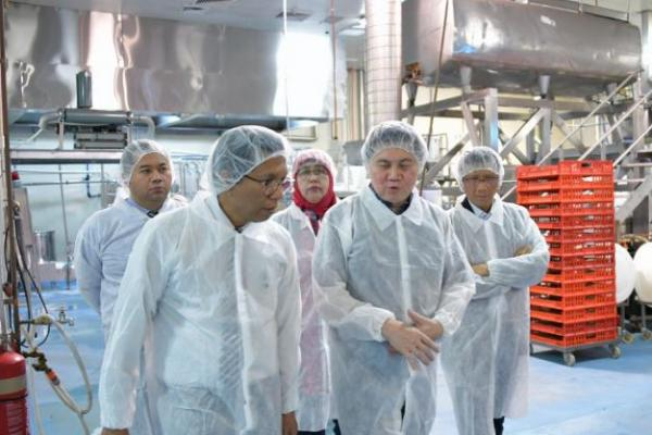 Dirjen PEN Kemendag Kunjungi Pabrik Tahu dan Tempe di Australia