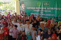 Universitas Malahayati Lampung Santuni Anak Yatim di Pringsewu