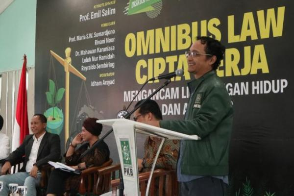 Sekjend PKB Buka Diskusi Reboan `Omnibus Law Cipta Kerja` di Aula PKB