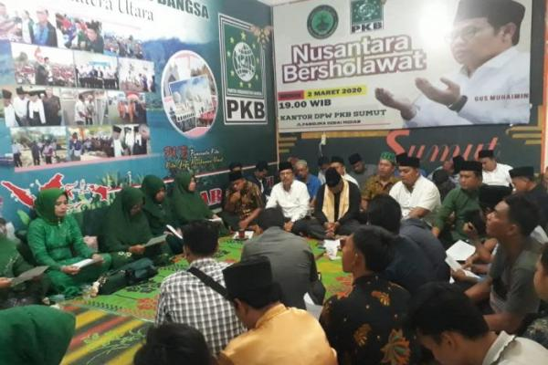 PKB Sumut Gelar Nusantara Bersholawat, Doakan Indonesia Terhindar dari Virus Corona