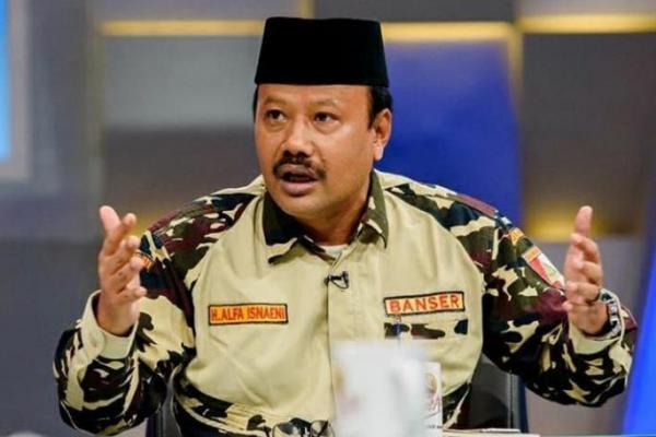 Jejak Karir Alfa Isnaeni, Kasatkornas Banser NU