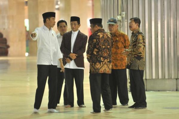 Cegah Virus Corona, Masjid Istiqlal Disterilisasi