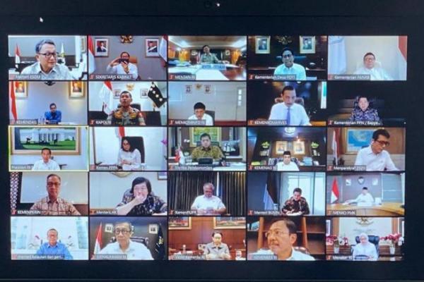 Presiden Jokowi Ingin Belajar dan Kerja di Rumah Harus Betul-betul Dilakukan