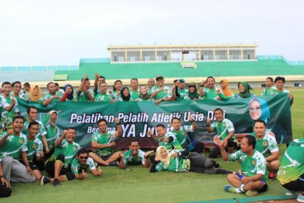 Optimalkan Potensi Atlet di Tuban, Ratna Juwita Gelar Pelatihan Pelatih Atletik