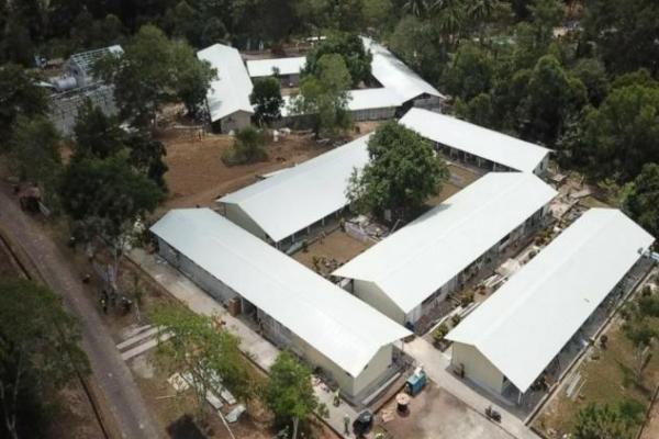 Kementerian PUPR Rampungkan Jaringan Pipa Air untuk Fasilitas Isolasi Covid-19 di Batam