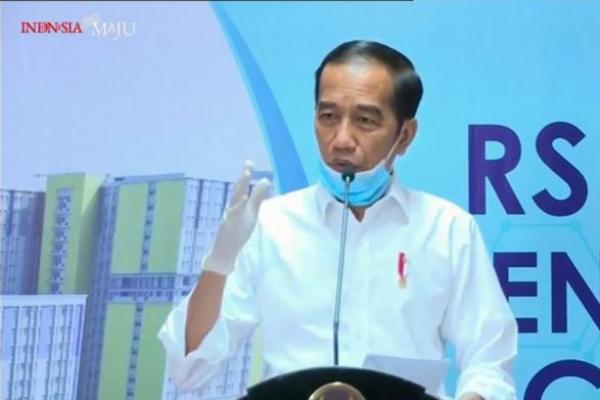 Presiden Jokowi Resmikan Wisma Atlet Kemayoran Jadi RS Darurat Covid-19