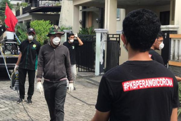 PKB Muda Riau Kembali Beraksi Perangi Wabah Covid-19