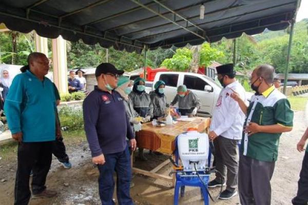 Cegah Corona, DPW PKB Sumbar dan Sumut Kawal Wilayah Perbatasan