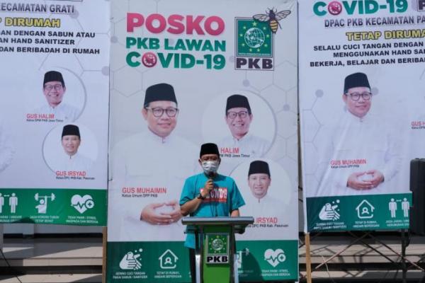 Launching Satgas PKB Lawan Covid-19, PKB Pasuruan Bawa Spirit Hijaukan Zona Merah