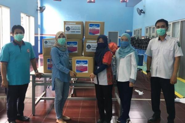 BLK Samarinda Donasikan 200 Baju Hazmat Bagi Tenaga Medis