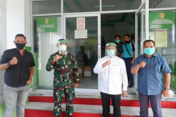 Abdul Wahid: PKB Riau Produksi 10.000 APD Dukung Kerja Tim Medis