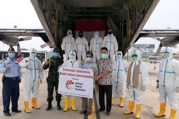 KBRI Phnom Penh Kamboja Bantu Pengiriman Alkes ke Indonesia