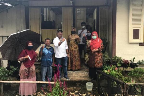 Legislator PKB Sumbar Kunjungi Keluarga Korban COVID-19 di Pasaman