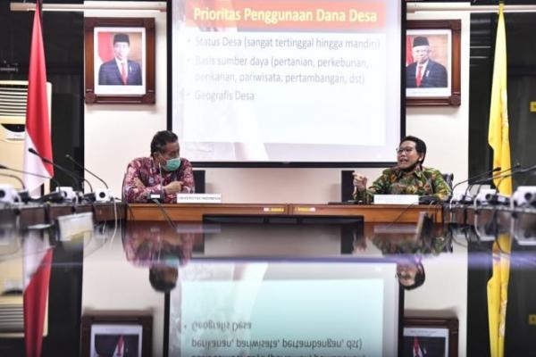 Tentukan Skala Prioritas Pembangunan Desa, Kemendes PDTT Gandeng UI
