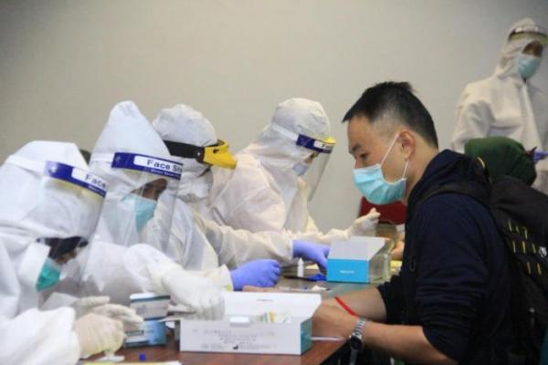 AP II Lakukan Rapid Test Bagi Penumpang Internasional