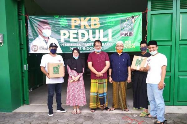 PKB Kota Yogyakarta Gandeng Ormas Distribusikan Sembako Untuk Masyarakat Terdampak Covid-19