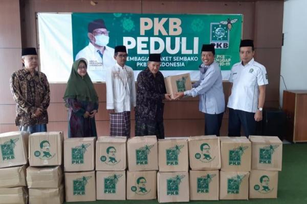 PKB DIY Salurkan 6.000 Dus Sembako dari Cak Imin