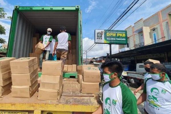 Empat Kontainer Bantuan Sembako dari Cak Imin Siap Disalurkan untuk Masyarakat Sultra
