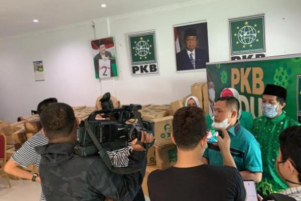 Jelang Idul Fitri, PKB Riau Salurkan 80 Ton Paket Sembako Bantuan Gus Muhaimin