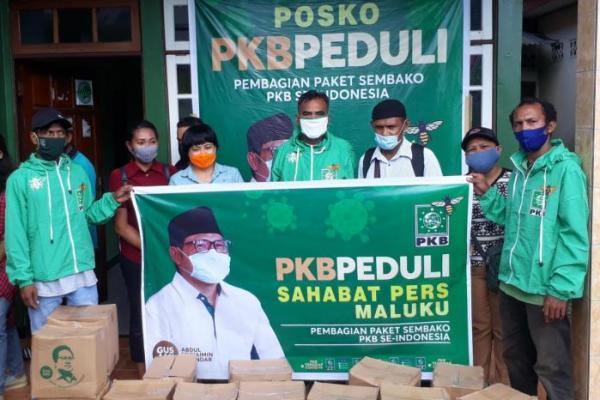 PKB Maluku Salurkan Bantuan dari Gus Muhaimin untuk Insan Pers