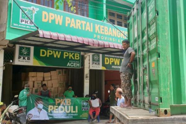 PKB Aceh Siap Distribusikan 10.000 Paket Sembako dari Cak Imin