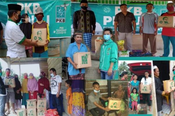 PKB Bombana Distribusikan Sembako Cak Imin ke Warga Terdampak Covid-19