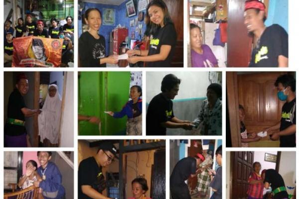 Gandeng Remaja Betawi Kemang, Komunitas RX King Santuni Janda dan Dhuafa