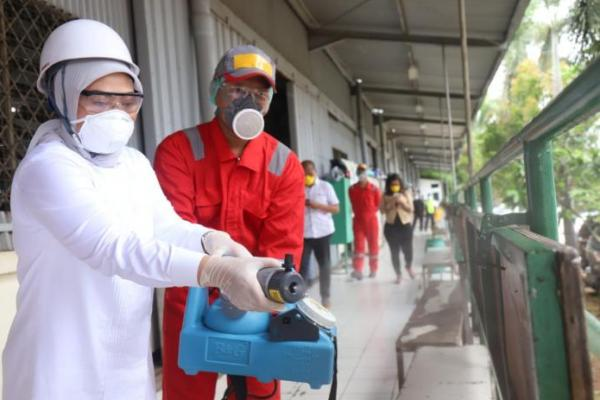 Cegah Corona, Menaker Dorong Dunia Usaha Lakukan Disinfektan di Tempat Kerja