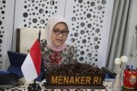 Menteri Ida Ajak Pelaku Usaha Kolaborasi Terapkan Protokol K3 di Perusahaan