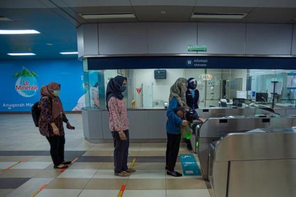 98 Persen Penumpang Merasa Aman Naik MRT