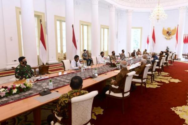 Presiden Jokowi Terima Purnawirawan TNI-Polri, Bahas Ideologi Pancasila?