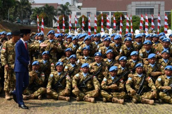 Diserang Milisi, Seorang Tentara Perdamaian Indonesia di Kongo Terbunuh