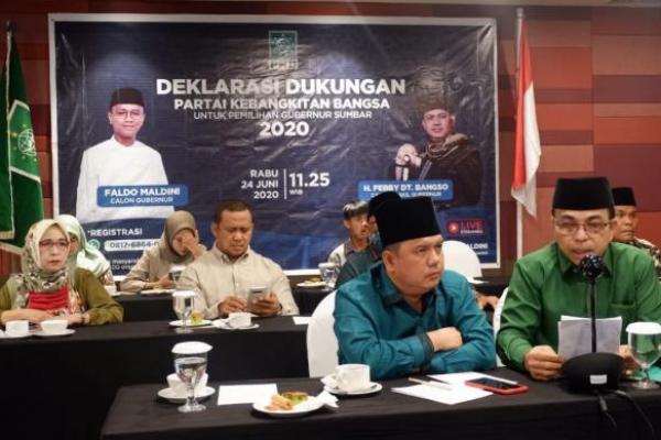 PKB Deklarasi Dukung Faldo Maldini-Febby Untuk Pilgub Sumatera Barat 2020