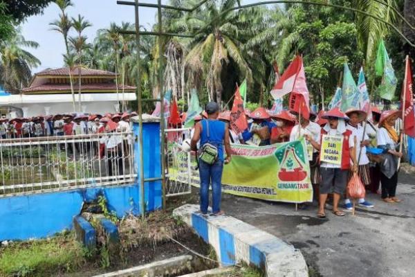 Gerbang Tani Desak ATR/BPN Segera Selesaikan Penggusuran Lahan Petani Simalingkar