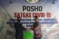 Transisi New Normal, Sapras Protokol Kesehatan Penuhi Lingkungan UIN SMH Banten