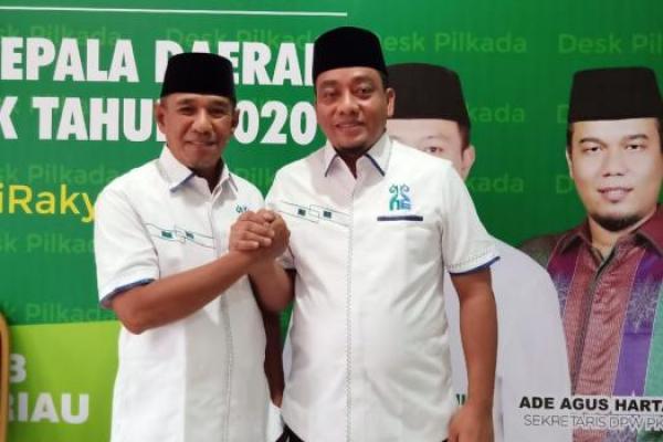 Pilkada Rohul, Dewan Syuro PKB Riau Doakan Pasangan Hafith Syukri-Erizal
