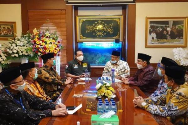 Terima Kunjungan Pimpinan MPR RI, PBNU Tegas Tolak RUU HIP
