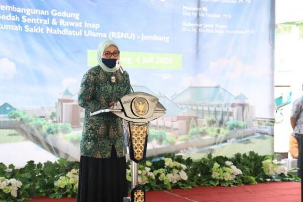 Menaker: Pemerintah Komitmen Bangun BLK Komunitas di Pesantren untuk Tingkatkan Kompetensi