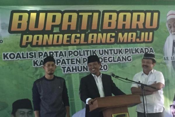 Lawan Petahana, PKB-PPP Jagokan Thoni Mukson di Pilkada Pandeglang