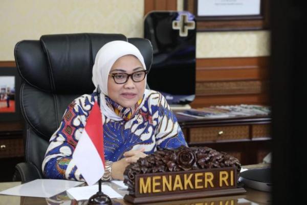 Menteri Ida Minta Disnaker Kolaborasi Perkuat Pembahasan RUU Ciptaker