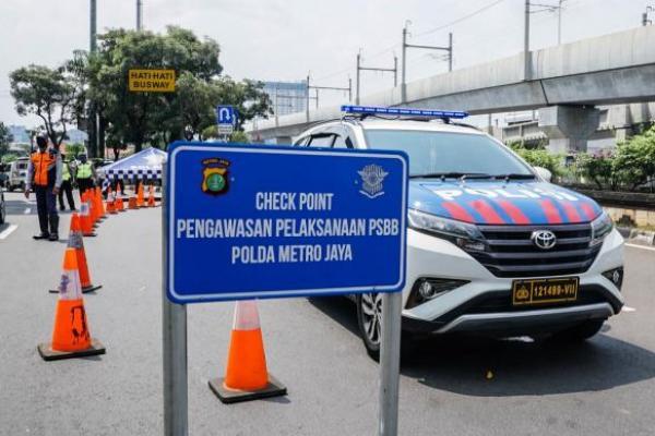 Pelanggar PSBB Transisi Capai 27.004 Orang, Total Denda Rp330,9 Juta