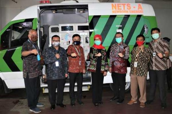 Pandemi, Bank DKI Rilis Sistem Transaksi Nontunai Ambulans Gawat Darurat