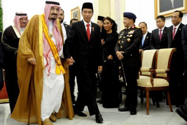 Presiden Jokowi Sampaikan Selamat Iduladha pada Raja Salman